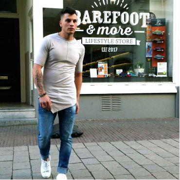 AVIOR - T-shirt Javier 3.0 licht grijs