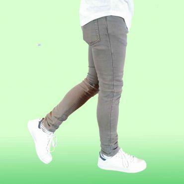Denim Republic - Jeans skinny stretch zand