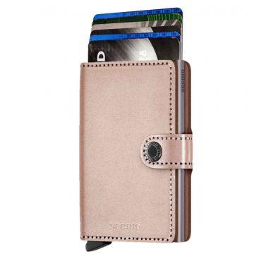 SECRID - Secrid mini wallet leer metallic rose