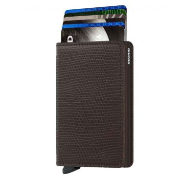 SECRID - Secrid slim wallet leer Rango bruin bruin