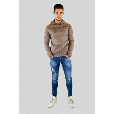 ZUMO - Techno tricot hoody beige
