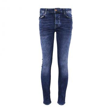 CARS - Super Skinny stretch jeans basic blauw (L32)