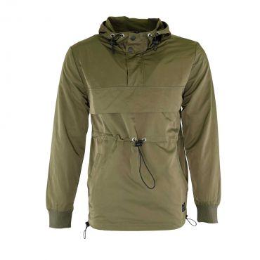 Terance Kole - Wind hoodie Olijf groen