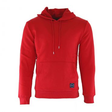 Uniplay - Slim fit soft hooded sweater rood
