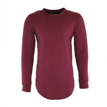 Uniplay - Basic longfit sweater bordeaux