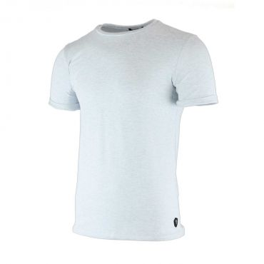 Uniplay - T-shirt slim fit tricot basic lichtblauw gemelleerd