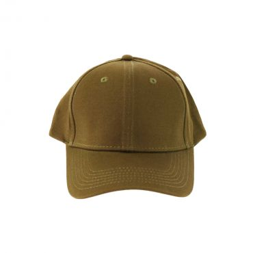 VIP Clothing - Cap basic cotton donkergroen