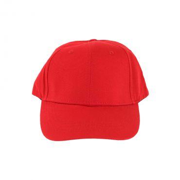 VIP Clothing - Cap basic cotton rood