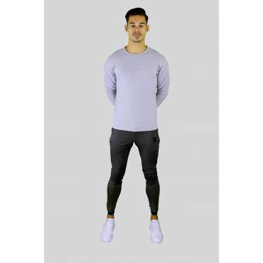 SIKSILK Joggingbroek Core Muscle fit kaki
