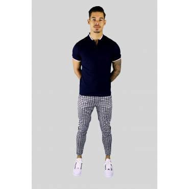 Jogging pantalon melange grijs