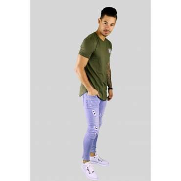 T-shirt Core Gym Tee kaki groen