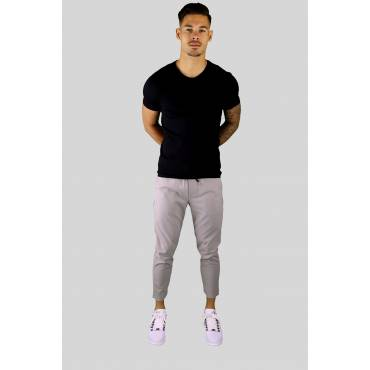 AARHON Jogging pants stretch uni beige