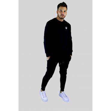 SIKSILK Sweater basic zwart