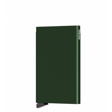 Secrid card protector aluminium in kleur groen