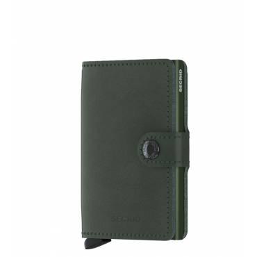 Secrid mini wallet leer original groen