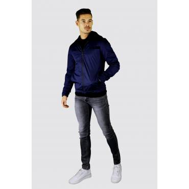Y TWO Jeans Bomber zomerjack donkerblauw
