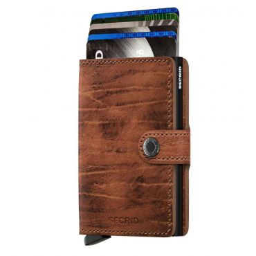 SECRID - Secrid mini wallet leer Dutch Martin whiskey