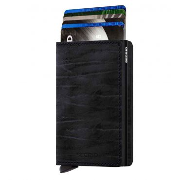 SECRID - Secrid slim wallet leer Dutch Martin night blue