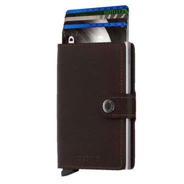 SECRID - Secrid mini wallet original donkerbruin
