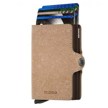 SECRID - Secrid twin wallet leer recycled natural