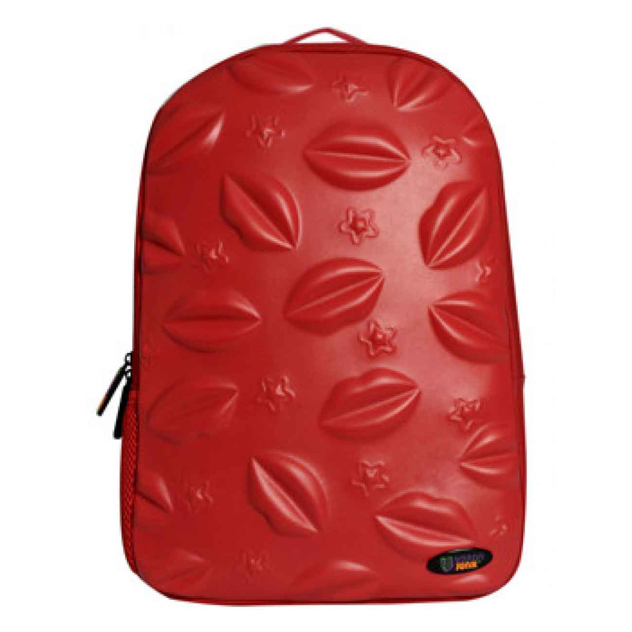 Backpack red star Kissed 3D Lux