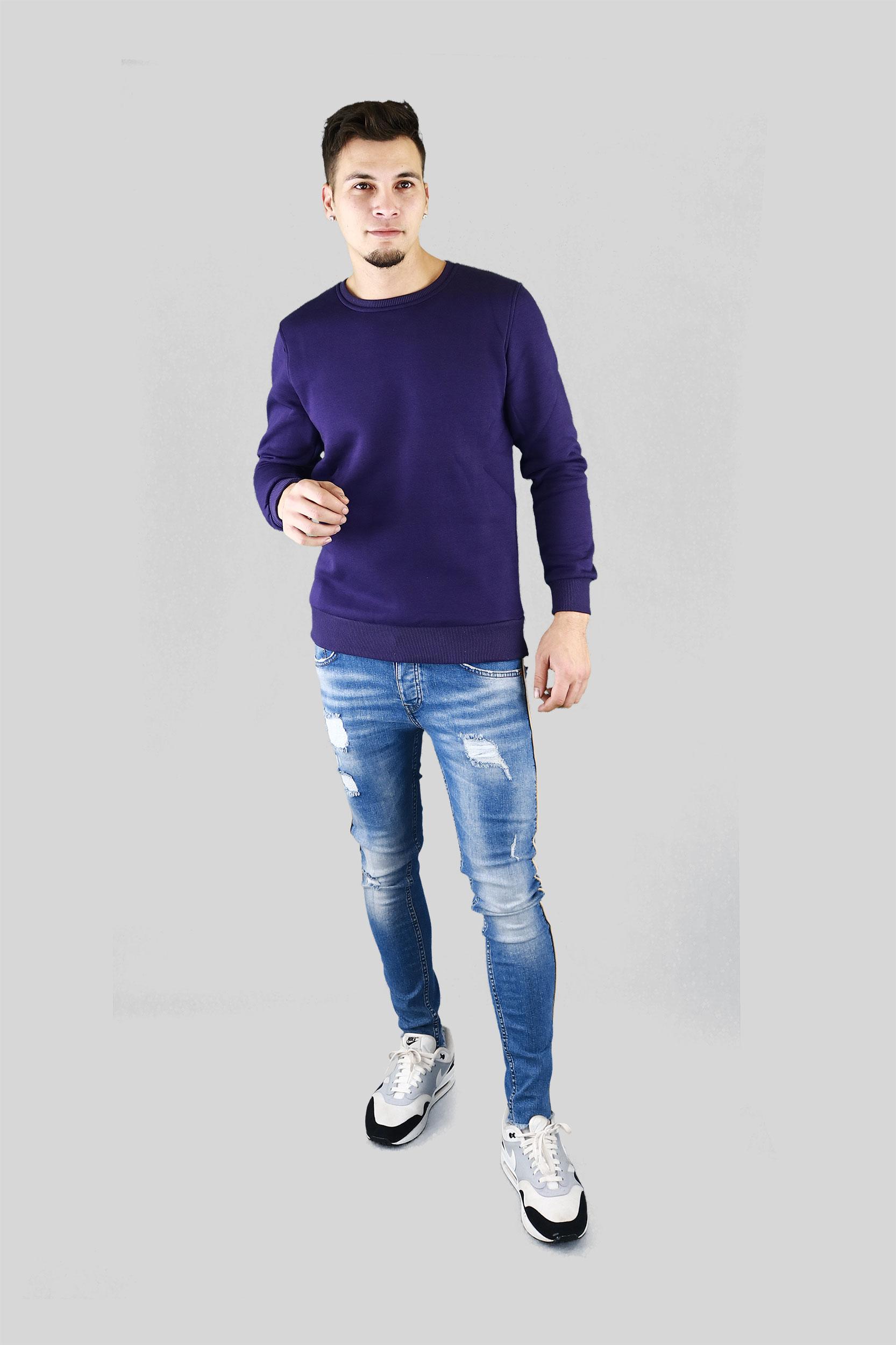 Whish Herenkleding. Sweater basic paars