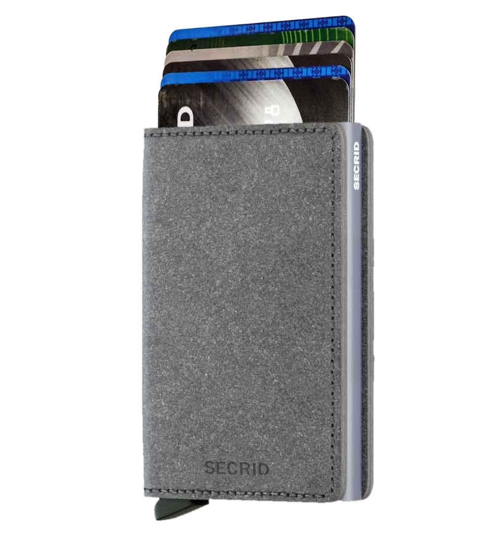 Whish Herenkleding. Secrid slim wallet leer recycled stone
